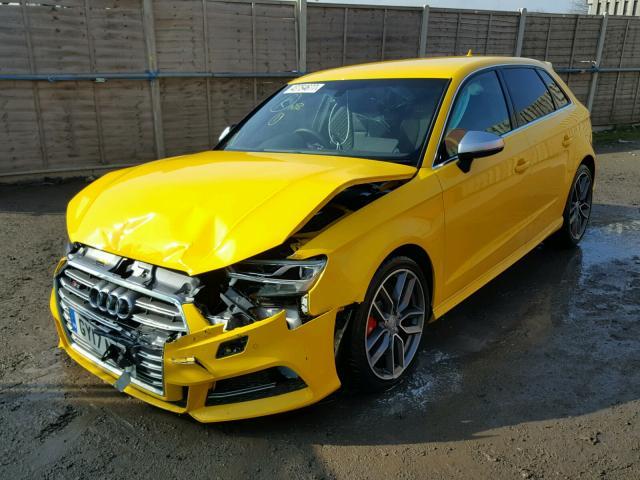 2017 Audi S3 Tfsi Qu For Sale At Copart Uk Salvage Car Auctions