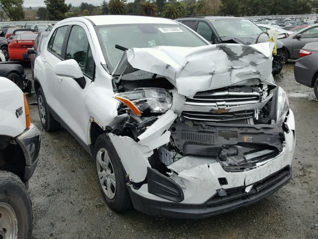 2016 Chevrolet Trax Ls Photos Salvage Car Auction Copart Usa