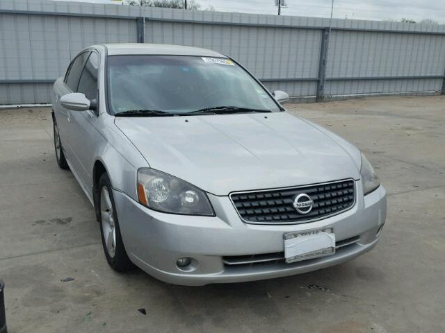 1n4bl11d25n476421 2005 Silver Nissan Altima Se On Sale In Tx
