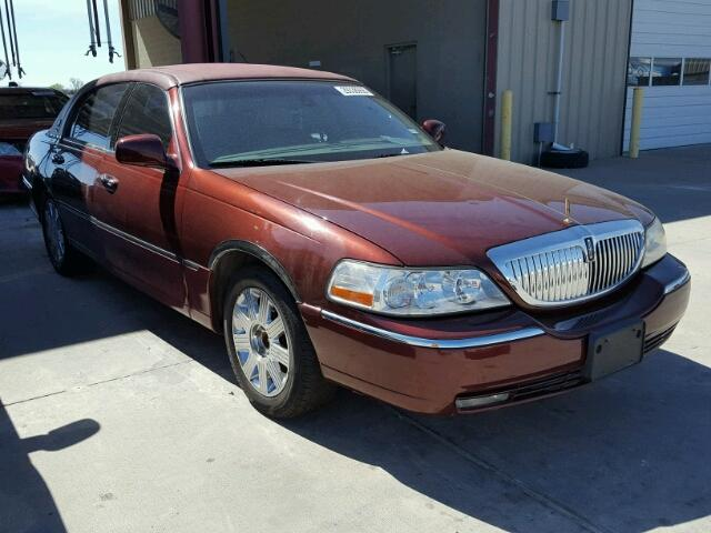 2003 Lincoln Town Car Cartier For Sale Tx Dallas South Salvage