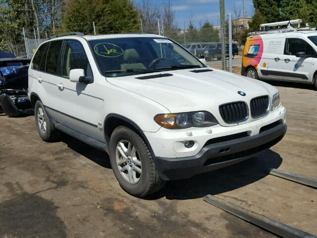 Auto Auction Ended on VIN: 5UXFA13595LY03141 2005 BMW X5 3.0I in NC ...