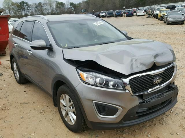 Auto Auction Ended On Vin 5xypg4a50hg285686 2017 Kia Sorento Lx In