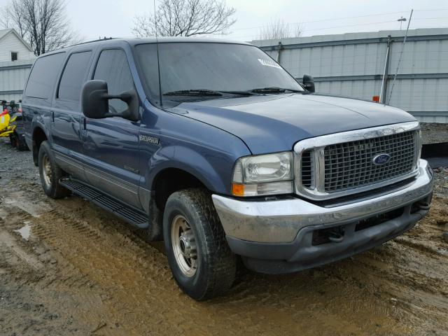 Auto Auction Ended On Vin 1fmsu41f72ed63744 2002 Ford Excursion In