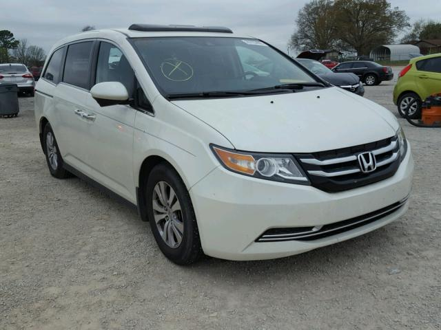 Auto Auction Ended On Vin 5fnrl5h67fb110526 2015 Honda Odyssey Ex In Al Tanner