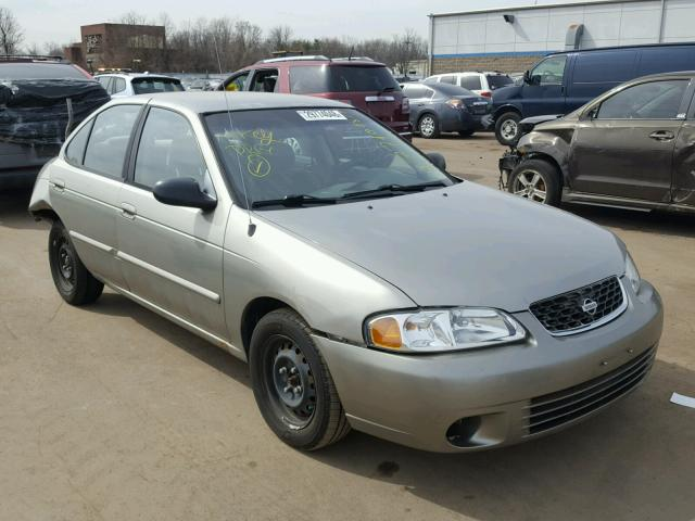 Auto Auction Ended on VIN: 3N1CB51DX2L645270 2002 NISSAN SENTRA XE