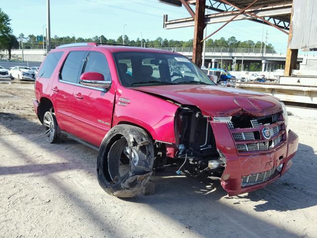 1gys3cef4er212766 2014 Red Cadillac Escalade P On Sale In Fl