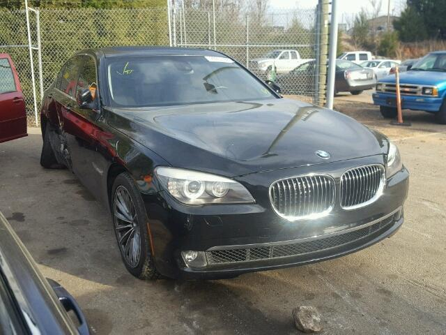 Salvage Certificate 2011 BMW 7 Series Sedan 4d 4.4L 8 For Sale in ...