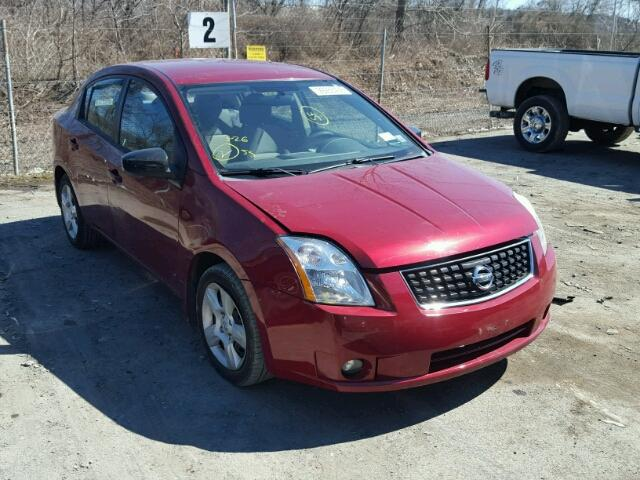 3N1AB61E98L678470 | 2008 RED NISSAN SENTRA 2.0 on Sale in NY ...