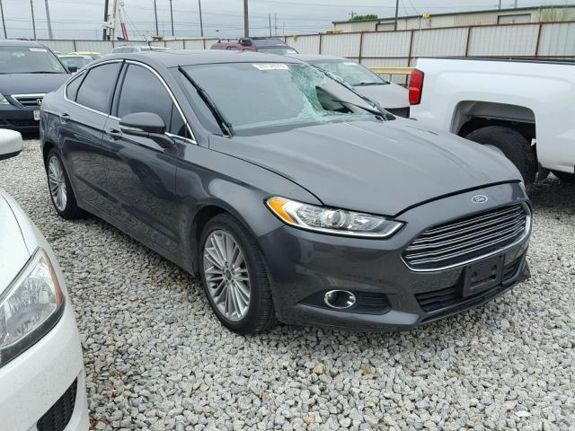 Auto Auction Ended On Vin 1fa6p0hd4g5106984 2016 Ford Fusion Se In Tx Ft Worth