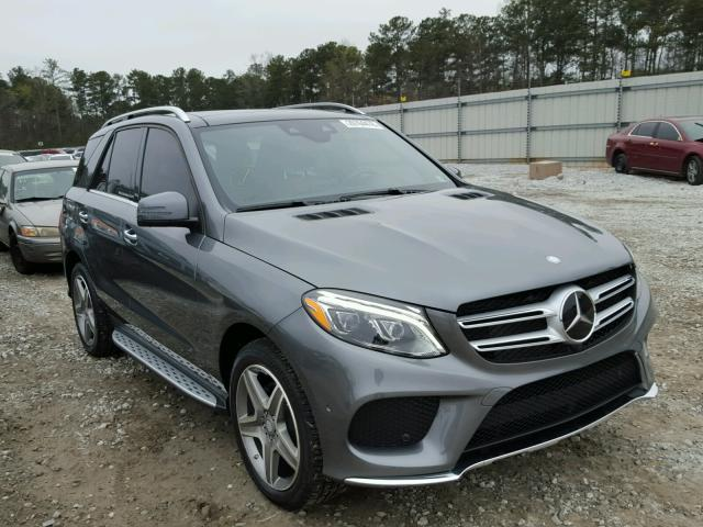 2017 Mercedes Benz Gle 400 4m 3 0l Salvage Car For Sale Auction In