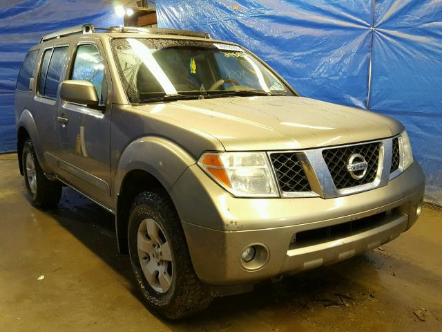 Auto Auction Ended on VIN: 5N1AR18W85C746285 2005 NISSAN PATHFINDER
