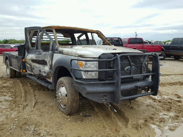 Salvage 2012 Ford F550 SUPER for sale