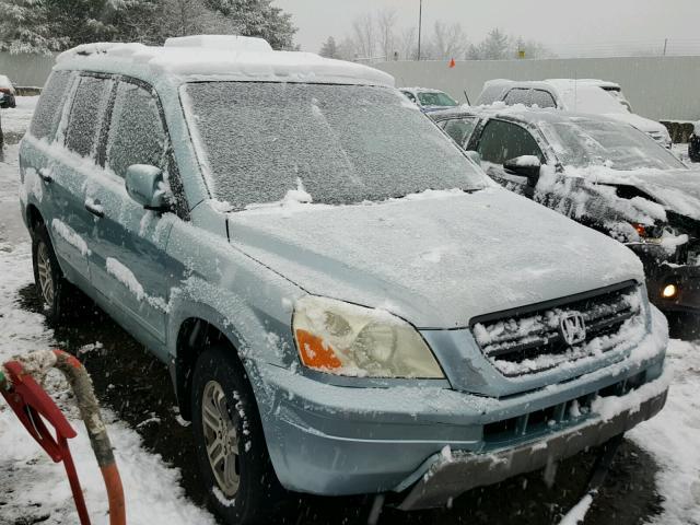 auto auction ended on vin 2hkyf18533h524693 2003 honda pilot exl in ct hartford autobidmaster