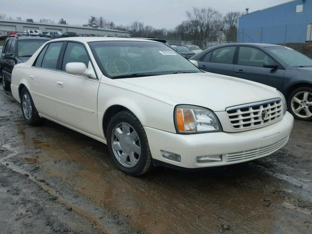 Auto Auction Ended on VIN: 1G6KF5790YU232758 2000 CADILLAC DEVILLE