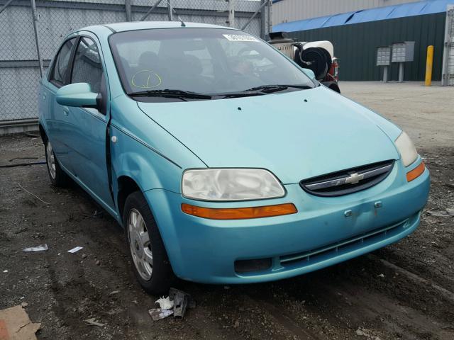 Kl1tg52675b330390 2005 Chevrolet Aveo Lt In Md
