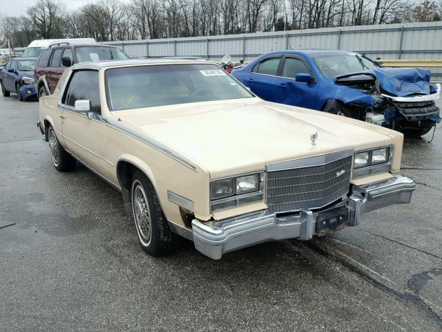 Auto Auction Ended On Vin 1g6al5780ee627461 1984 Cadillac Eldorado