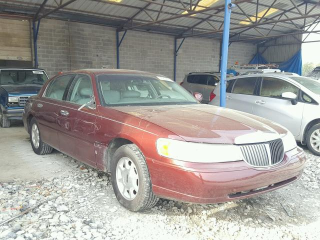 Auto Auction Ended On Vin 1lnhm82w61y686471 2001 Lincoln Town Car S In Ga Cartersville
