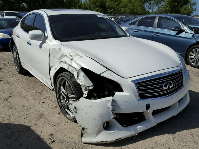Auto Auction Ended On Vin Jn1by1ap6cm330227 2012 Infiniti M37 In Fl