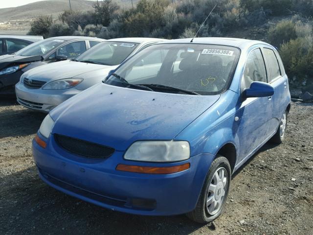 2005 Chevrolet Aveo Lt Rear End Damage Kl1tg62605b310178 Sold