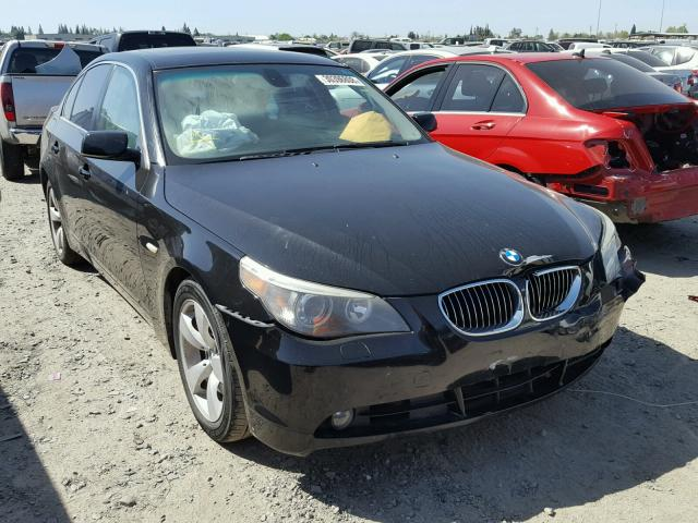Auto Auction Ended On Vin Wbane53576ck91371 2006 Bmw 525i