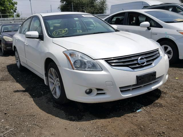 1n4bl2ap6bn449606 2011 White Nissan Altima Sr On Sale In Ca San