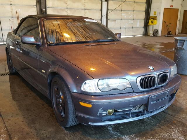 2002 Bmw 330 Ci 3.0L