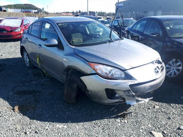 Salvage 2013 Mazda 3 I for sale