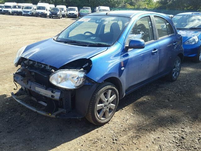 2012 Nissan Micra Elle For Sale At Copart Uk Salvage Car Auctions