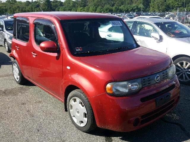 Jn8az28r19t103663 2009 Red Nissan Cube Base On Sale In Ri Exeter