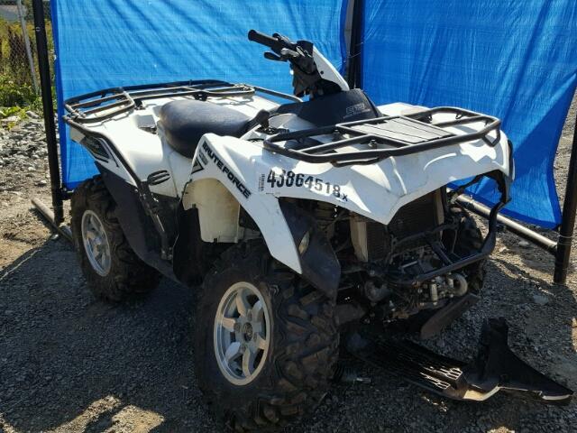 Salvage 2016 Kawasaki KVF750 G for sale