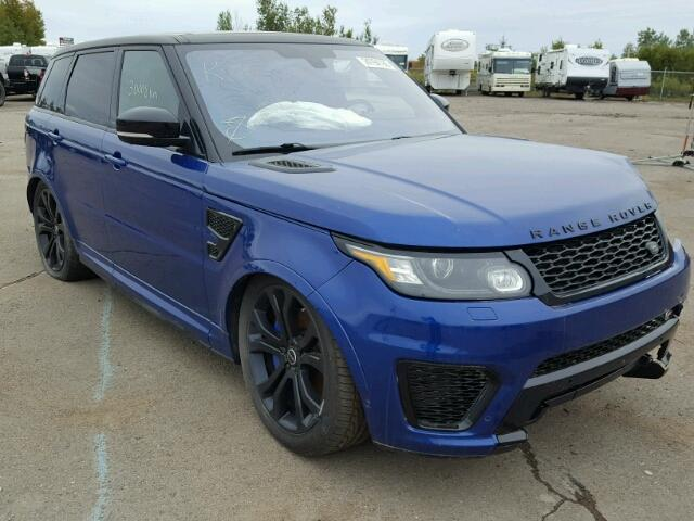 Salvage 2016 Land Rover RANGE ROVER for sale