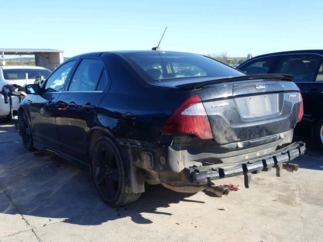 2012 Ford Fusion Spo 3.5L