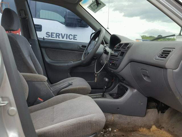 Vin 2HGEJ6670WH623313 1998 HONDA CIVIC LX   Interior View Lot 44665578.