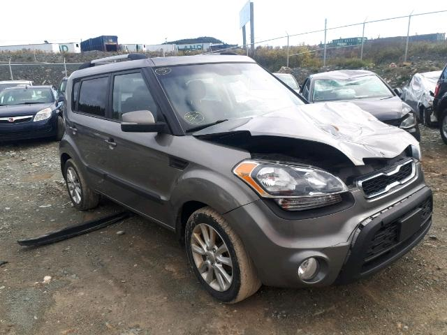 Salvage 2012 KIA SOUL + for sale