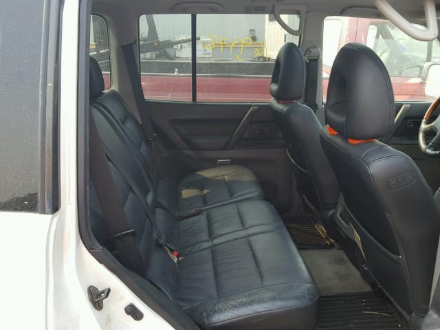 91 mitsubishi montero seats