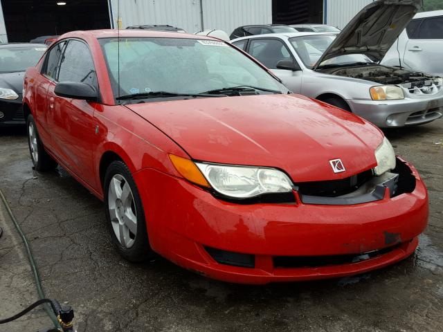1g8an18f46z158117 2006 Red Saturn Ion Level On Sale In Il