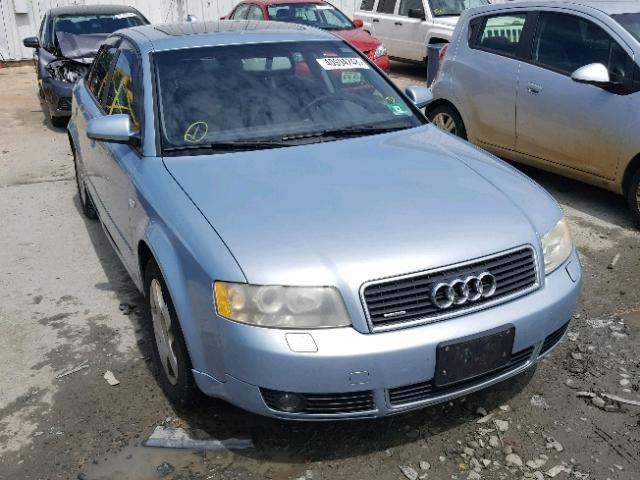 Salvage 2004 Audi A4 1.8T QUATTRO for sale