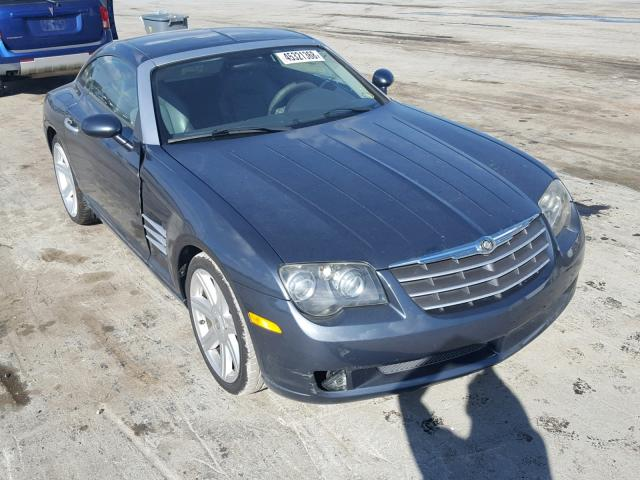 1c3an69l26x069055 2006 Gray Chrysler Crossfire On Sale In Tn