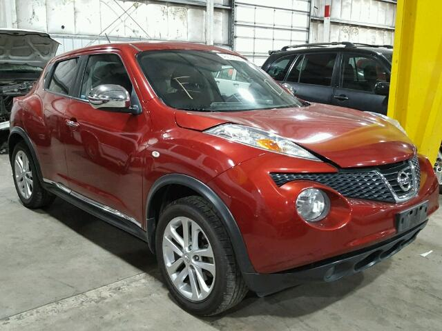 Salvage 2012 Nissan JUKE S for sale