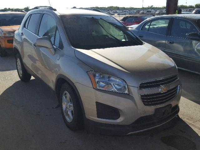 2016 Chevrolet Trax 1lt Photos Salvage Car Auction Copart Usa