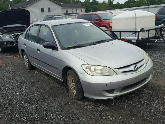 2HGES16364H638909   2004 HONDA CIVIC DX V 1.7L Left View
