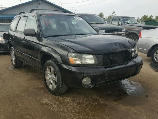 Jf1sg65604h715488 2004 Black Subaru Forester 2 On Sale In Il