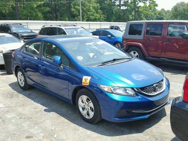 Salvage 2013 Honda CIVIC LX for sale