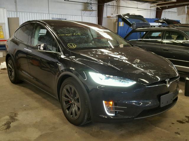 Salvage Title 2018 Tesla Model X For Sale In Denver Co 44627298