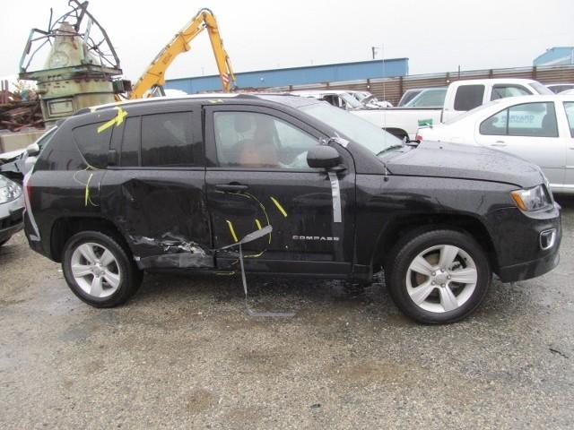 Vehiculos salvage en venta de Copart Rocky View, AB: 2016 Jeep Compass SP