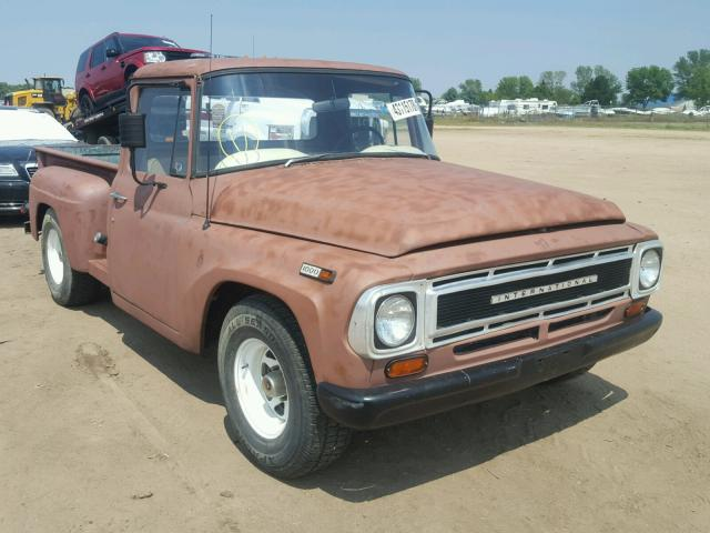 International Harvester salvage cars for sale: 1968 International Harvester