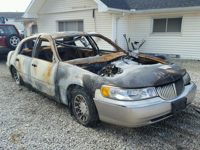 Auto Auction Ended On Vin 1lnhm82wxxy704348 1999 Lincoln Town Car S