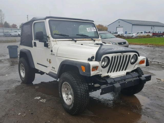2003 Jeep Wrangler / 4.0L