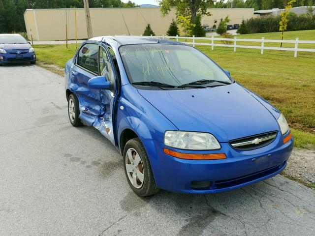 Auto Auction Ended On Vin Kl1td56626b546796 2006 Chevrolet Aveo