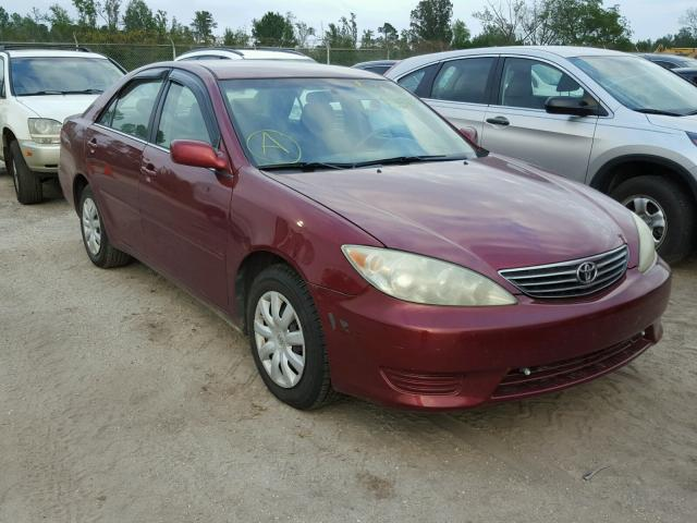 4T1BE32K85U063742 | 2005 RED Toyota Camry Le on Sale
